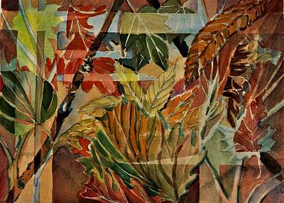 Painting - Autumn Tapestry by Mindy Newman