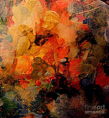Painting - Autumn Tapestry by Nancy Kane Chapman