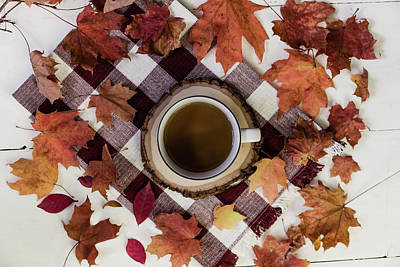 Photograph - Autumn Tea Time by Kim Hojnacki
