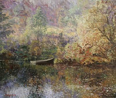 Autumn Tenderness Print by Andrey Soldatenko