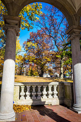 Photograph - Autumn Through The Arch by Francisco Gomez