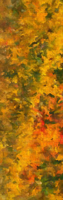 Painting - Autumn Tiles by Dan Sproul