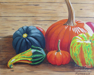 Wall Art - Painting - Autumn Time by Tracy Farrand