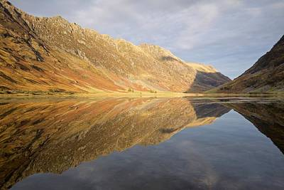 Photograph - Autumn Tones At Loch Achtrocitan by Stephen Taylor