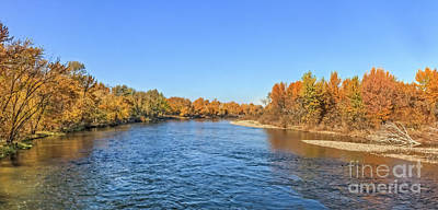 Photograph - Autumn Tones On The Payette River by Robert Bales