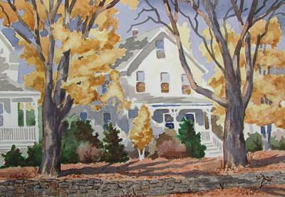 Painting - Autumn by Tony Caviston