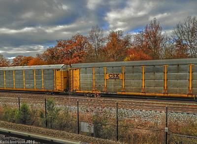 Photograph - Autumn Tracks by Kathi Isserman