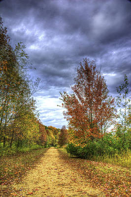 Photograph - Autumn Trail by Francisco Gomez