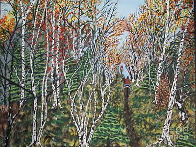 Autumn Trail Ride  Original by Jeffrey Koss
