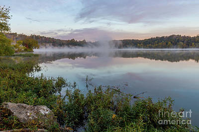 Photograph - Autumn Tranquility Lake Springfield by Jennifer White