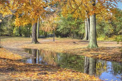 Photograph - Autumn Tranquility by Zev Steinhardt