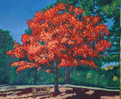 Painting - Autumn Tree by Stan Hamilton