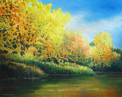 Painting - Autumn Trees by Douglas Castleman