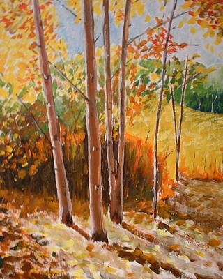 Painting - Autumn Trees by Francis Chester