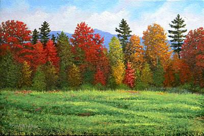 Granger - Autumn Trees by Frank Wilson
