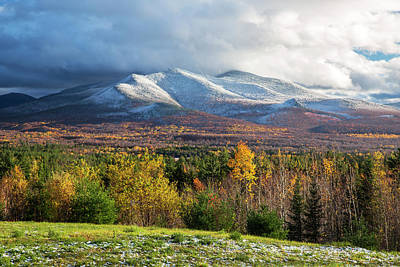 Photograph - Autumn Turns To Winter by Chris Whiton