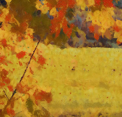 Movies Star Paintings - Autumn Valley by Dan Sproul