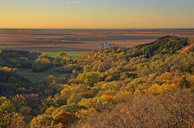 Photograph - Autumn View At Waubonsie State Park by Edward Peterson