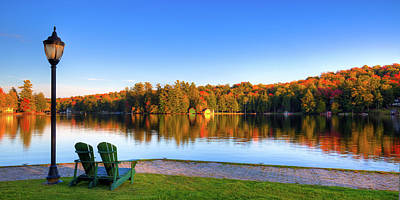 Photograph - Autumn View For Two by David Patterson