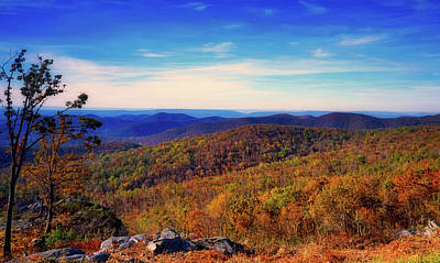 Photograph - Autumn View From The Pont Overlook by L O C