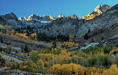 Photograph - Autumn View, High Sierra by Stuart Gordon