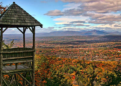 New Paltz Photograph - Autumn View by June Marie Sobrito