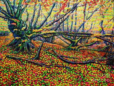 Painting - Autumn by Viktor Lazarev