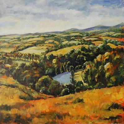 Autumn Vista Art Print by Alexandra Maria Ethlyn Cheshire