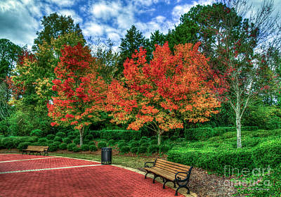 Photograph - Autumn Waiting For You Fall Colors Art by Reid Callaway