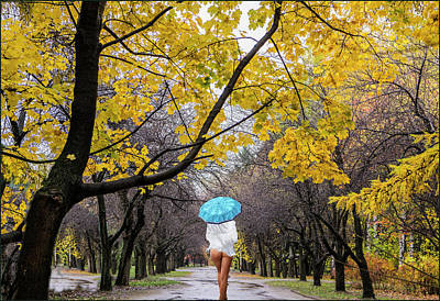 Photograph - Autumn Walk by Vladimir Kholostykh