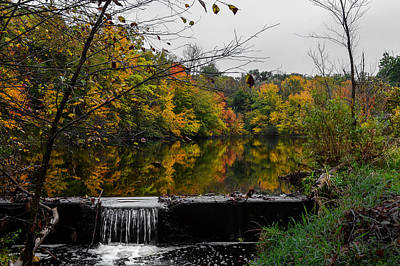 Photograph - Autumn Wappingers Creek by Art Atkins