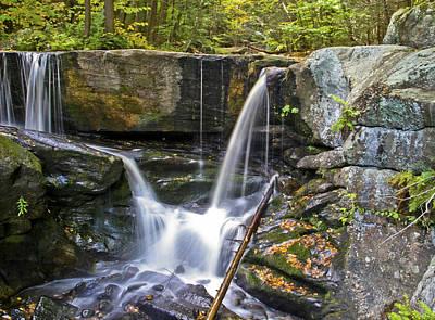 Photograph - Autumn Waterfall by Albert Seger