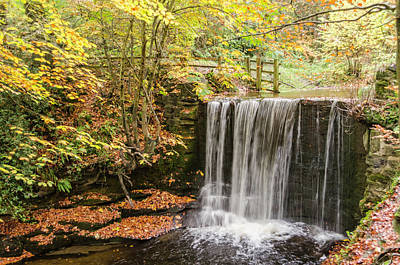 Photograph - Autumn Waterfall by Spikey Mouse Photography