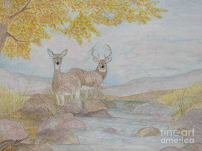 Painting - Autumn Watersong by Patti Lennox