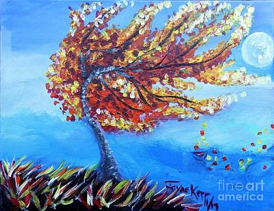 Painting - Autumn Whisper by Jayne Kerr