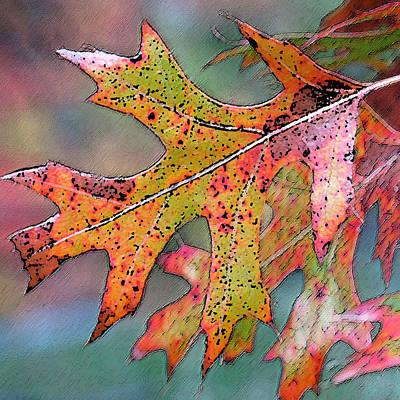 Autumn Whisper Art Print by Suzy Freeborg