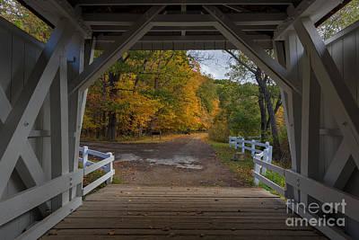 Photograph - Autumn Window by Joshua Clark