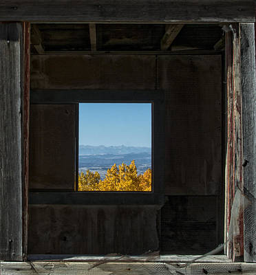 Photograph - Autumn Windows by Barry C Donovan