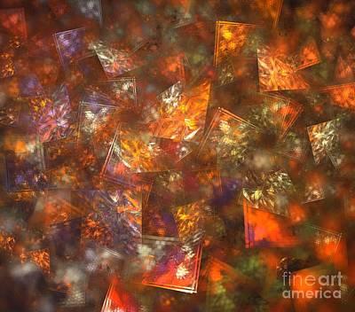 Digital Art - Autumn Windows by Kim Sy Ok