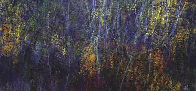 Mixed Media - Autumn Wonder II by Jim Vance