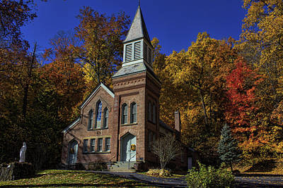 Photograph - Autumn Worship by Ron Grafe
