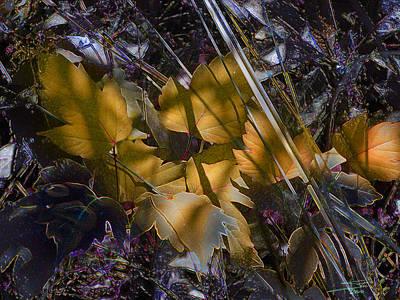 Autumn Yellow Art Print by Stuart Turnbull