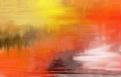 Digital Art - Autumnal Abstract  by Shelli Fitzpatrick