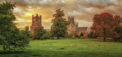 Photograph - Autumnal Cathedral Sunset by James Billings