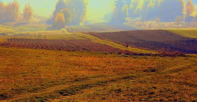 Photograph - Autumnal Fogs by Henryk Gorecki