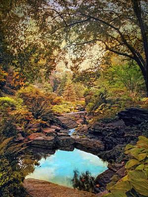 Rock Garden Photograph - Autumnal Garden by Jessica Jenney