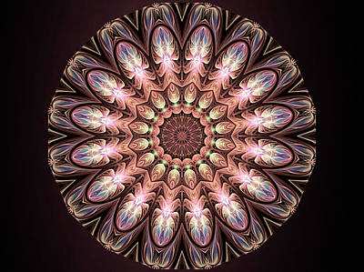 Digital Art - Autumnal Mandala by Susan Maxwell Schmidt