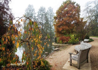 Photograph - Autumnal Mists 3 by Shirley Mitchell