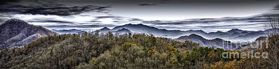 Photograph - Autumnal Mountains by Walt Foegelle