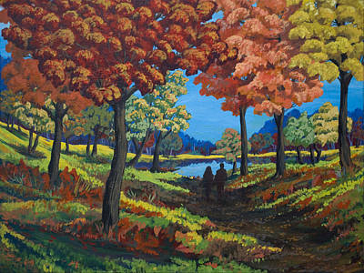 Autumnal Nostalgia Print by Tyler Auman